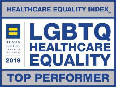 Arkansas Children's was named a Top Performer by Healthcare Equality Index for LGBTQ Healthcare Equality