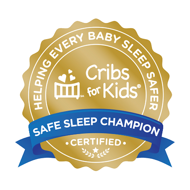 Arkansas Children's is a Gold Certified Safe Sleep Champion