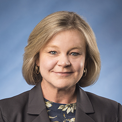 Lee Anne Eddy, MSN, RN, NEA-BC, Senior Vice President and Chief Nursing Officer