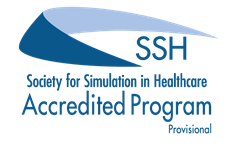 Society for Simulation in Healthcare Accredited Program Logo