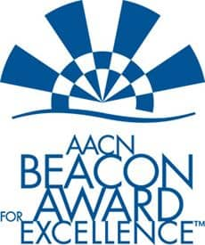 AACN Beacon Award for Excellence Logo