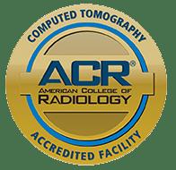 Computerized Tomography (CT) Acreditation Badge