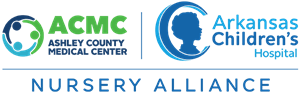 Ashley County Medical Center / Arkansas Children's Nursery Alliance Logo