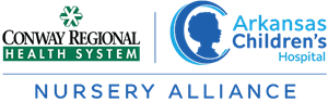 Conway Regional Health System / Arkansas Children's Nursery Alliance Logo