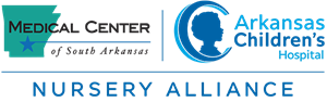 Medical Center of South Arkansas / Arkansas Children's Nursery Alliance Logo
