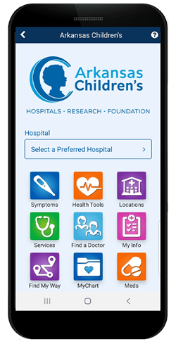 Arkansas Children's Mobile App