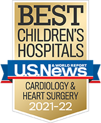 US News and World Report Badge - Cardiology